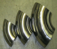 Rush Exhaust Purification - Stainless Steel Bends