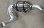 New Catalytic Converter Installation